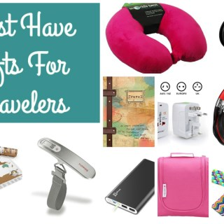 Holiday Gift Guide: 10 Must-Have Gifts for Travelers