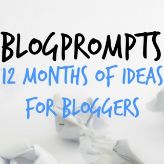 December Blog Prompts {12 Months of Writing Ideas}