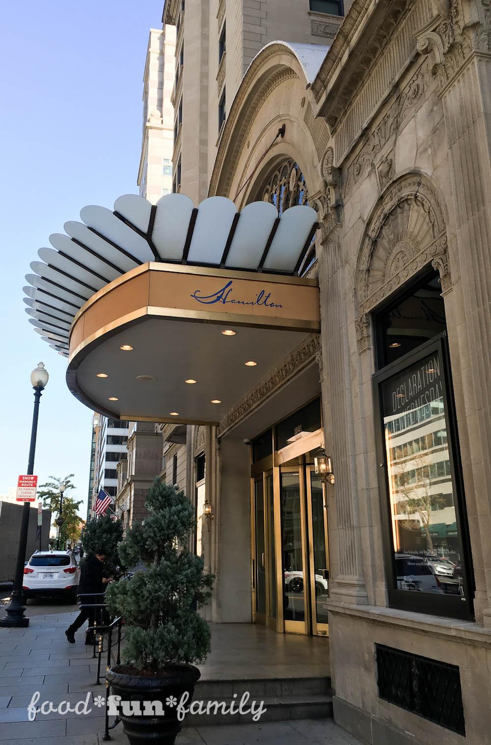 Hamilton Crowne Plaza Washington DC Hotel at Food Fun Family