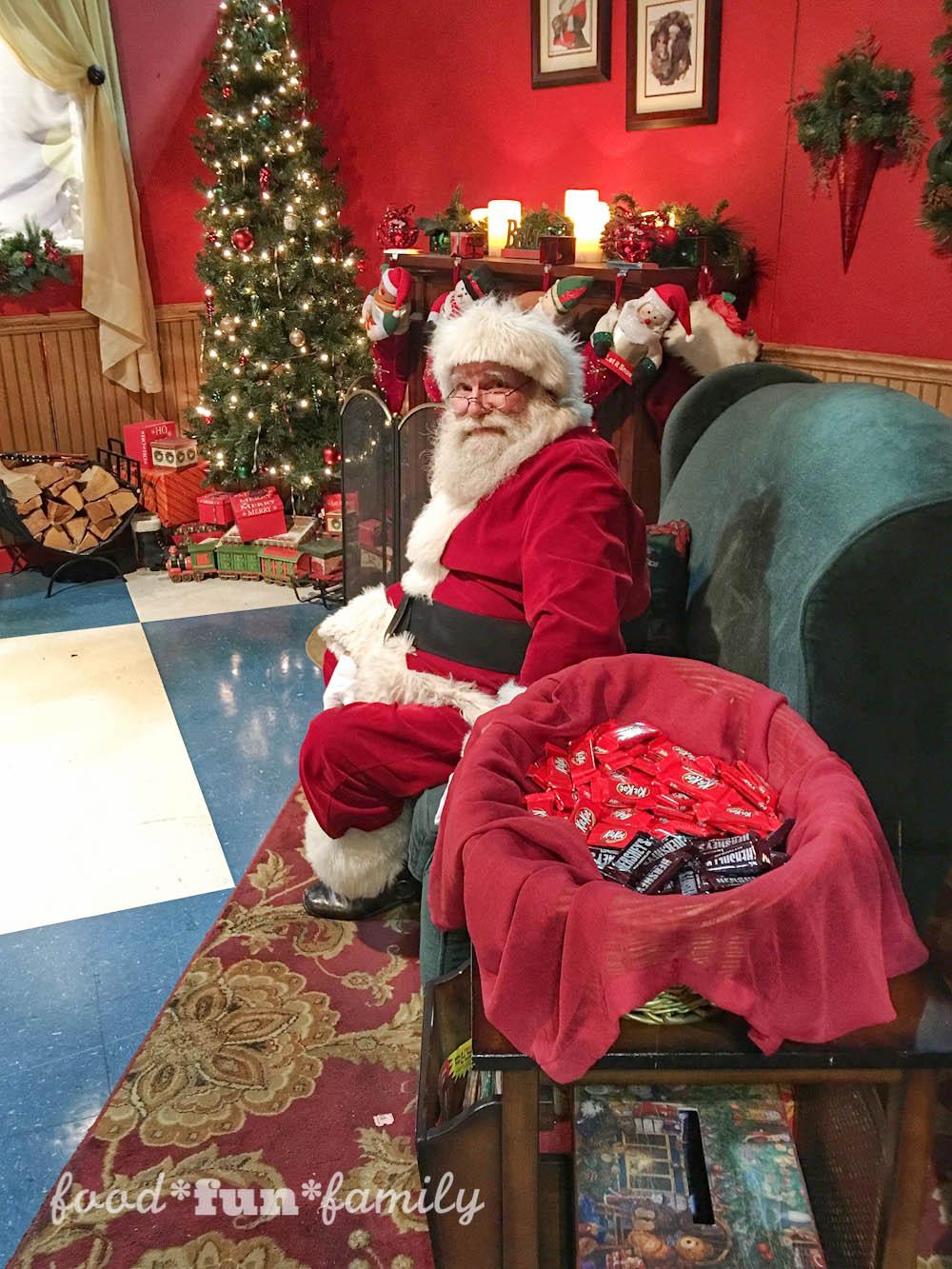 Hersheypark Christmas Candylane at Food Fun Family