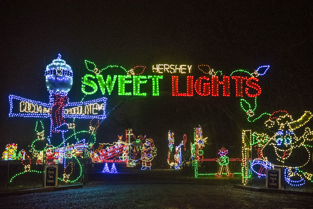 Christmas in Hershey: The Sweetest Place on Earth - Hershey Sweet Lights at Food Fun Family-6