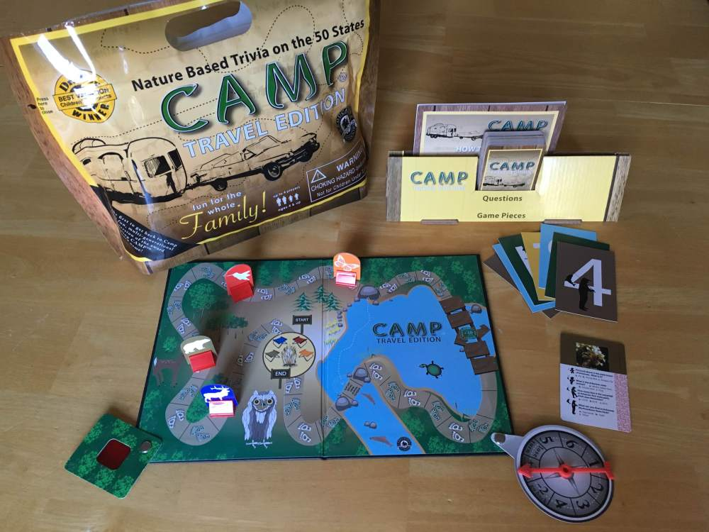 Camp: Travel Edition Game