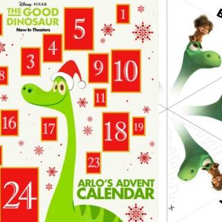 The Good Dinosaur Advent Calendar & More