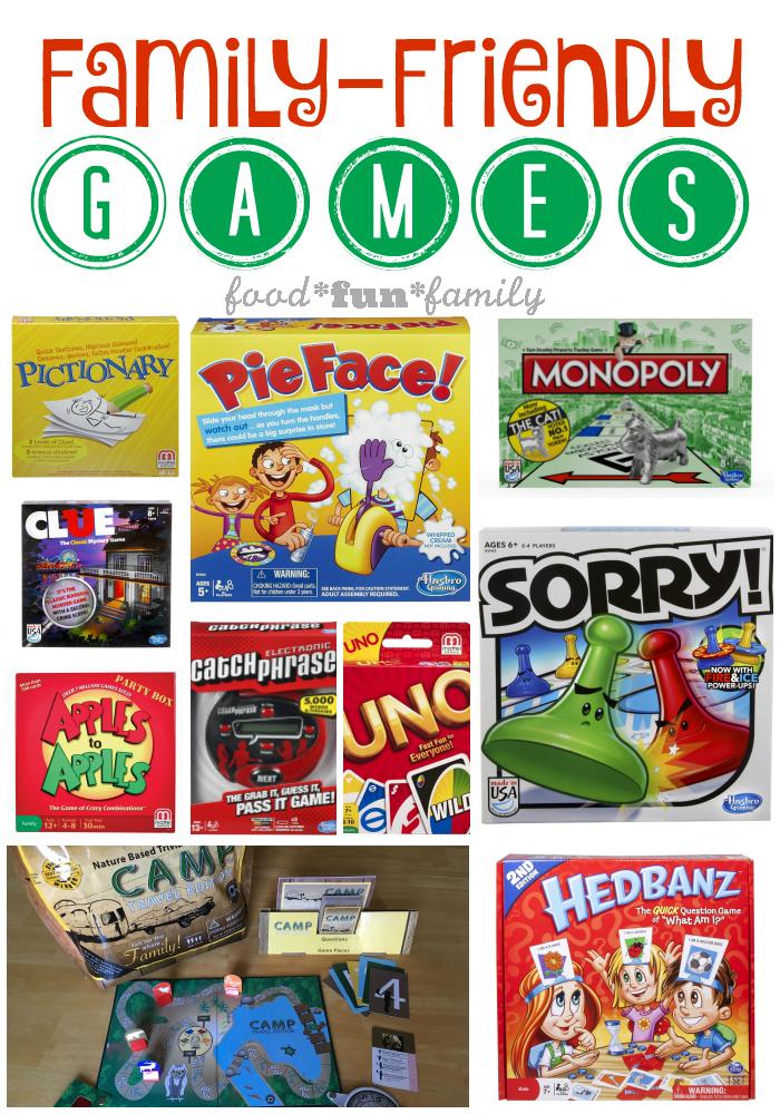 family friendly games at Food Fun Family