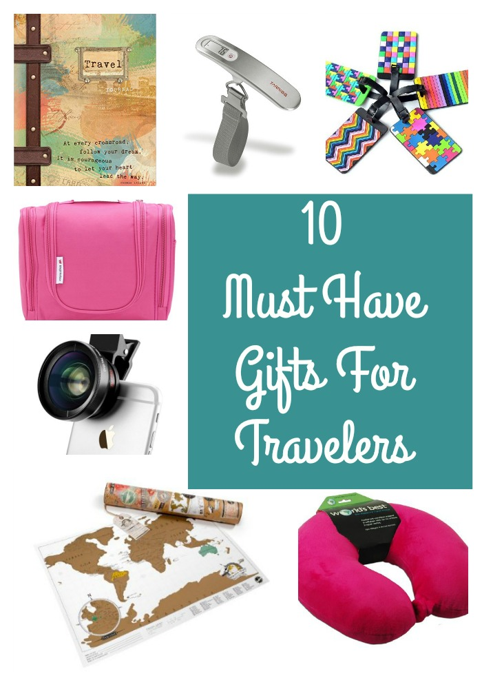 10 Must-Have gifts for travelers at Food Fun Family