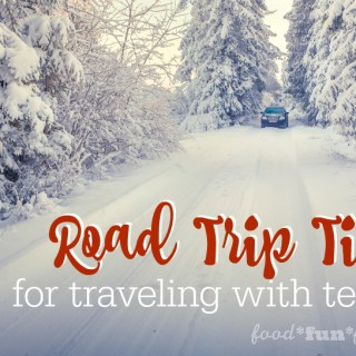 Road Trip Tips for Traveling with Teens #MomHacks