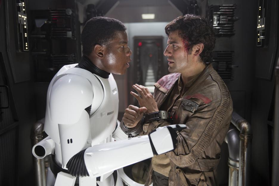 Star Wars: The Force Awakens - Finn and Poe