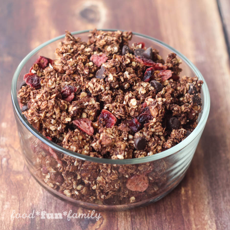 Dark Chocolate Granola