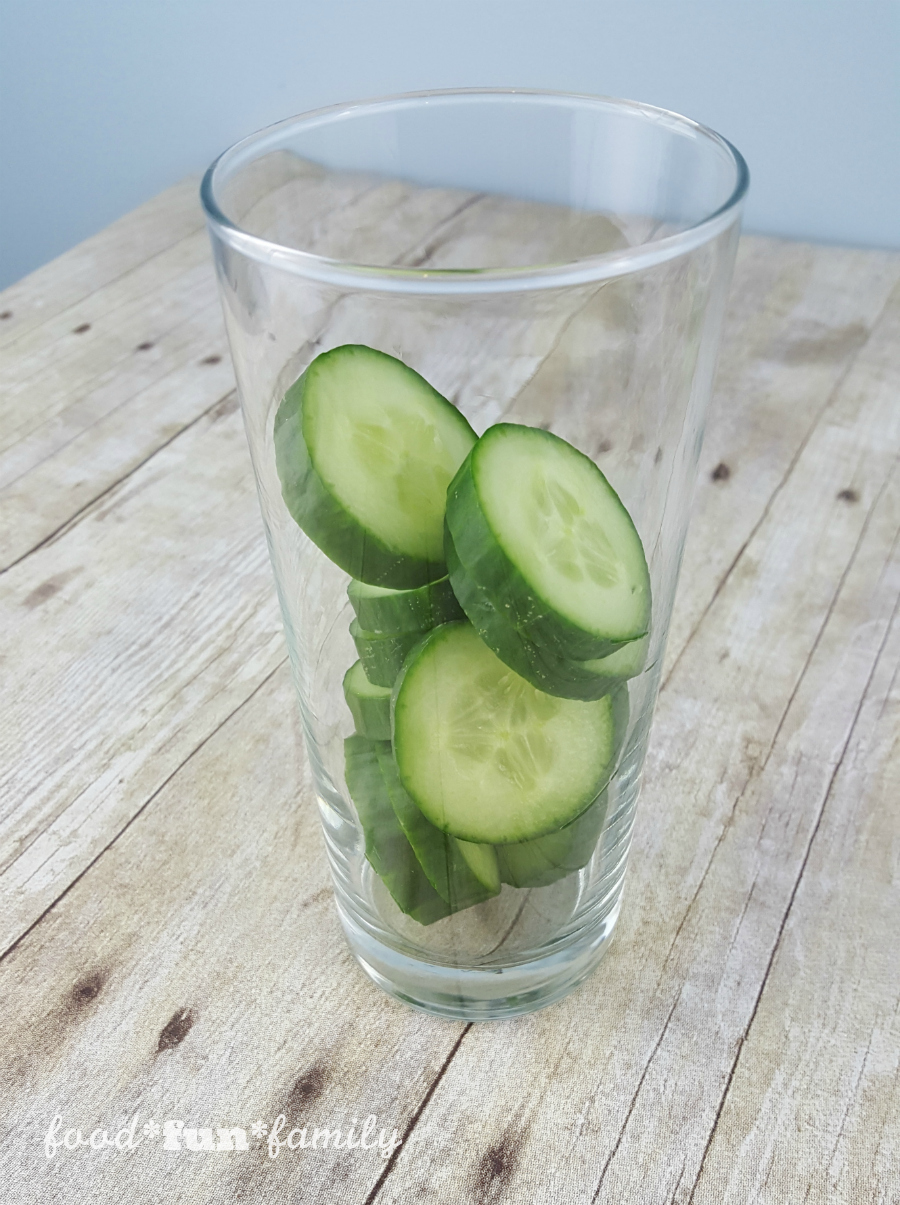 Detox cucumber infused water from Food Fun Family - a healthy and delicious drink with amazing health benefits