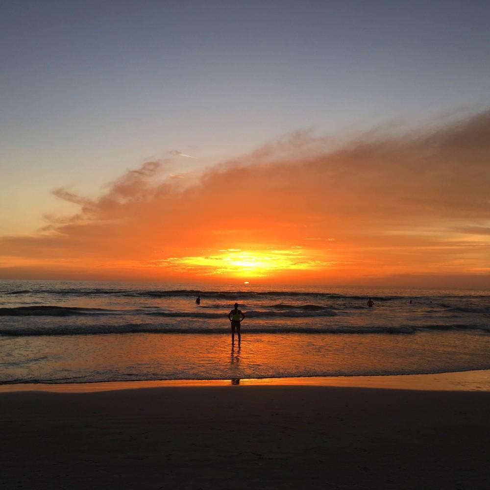 Florida Sunset at Siesta Key by Food Fun Family