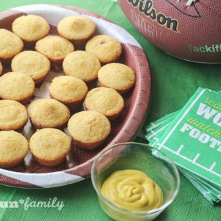 Game Day Mini Corn Dog Muffins with Beef Lit'l Smokies® Sausages