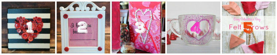 Looking for some easy DIY craft projects for Valentine's Day? You will love these 10 Easy Valentine's Day Crafts (No talent required!)