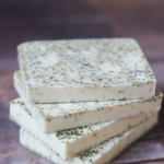Ginger white tea cocoa butter soap