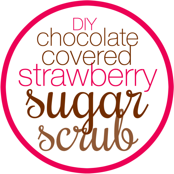 Love to make your own homemade bath and beauty products? If you haven't started yet, you MUST try this simple recipe today! This chocolate covered strawberry sugar scrub makes a GREAT gift (but be sure to keep some for yourself, too!). Free printable label for a mason jar is included to finish off your gift!