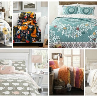 Lush decor bedding collage