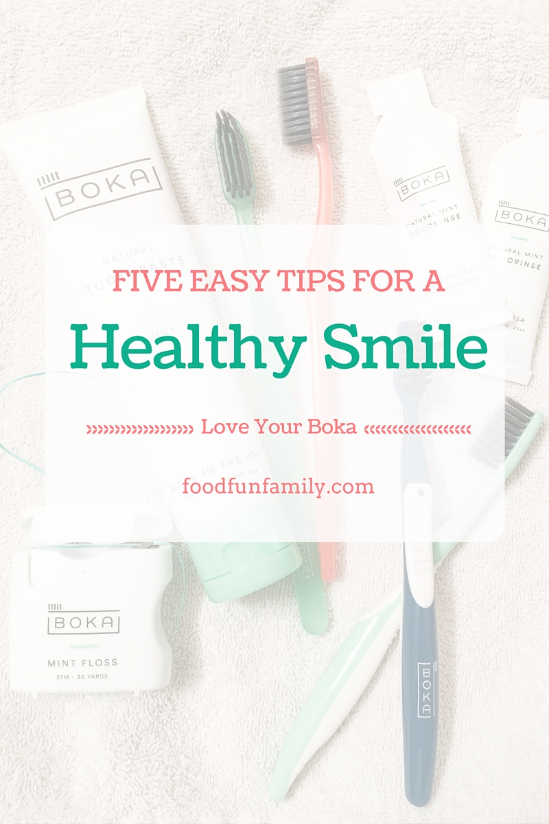 5 Easy Tips for a Healthy Smile - simple steps that you can take for better oral care.