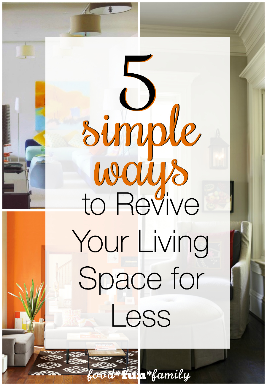 5 ways to revive your living space for less: update your home without emptying your wallet!