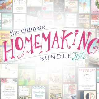 The Ultimate Homemaking Bundle 2016