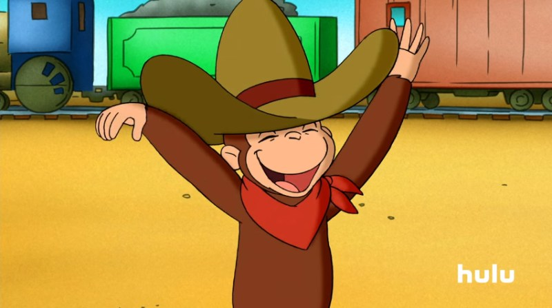 Curious George - now streaming all 9 seasons only on Hulu