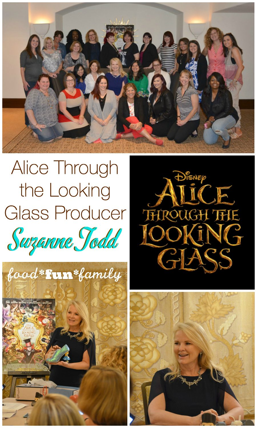 Alice Through the Looking Glass Producer Suzanne Todd on motherhood, shoes, time, and her newest Disney movie