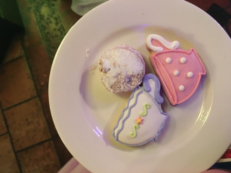 cookies at the Alice Through the Looking Glass after party