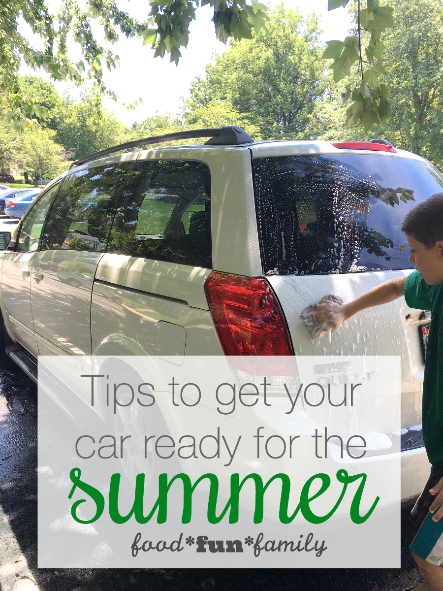 5 tips to get your car ready for the summer