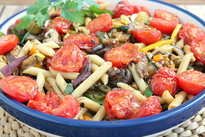Grilled-Summertime-Veggies-with-Pasta