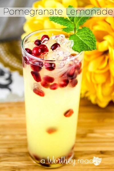 Pomegranate-Lemonade
