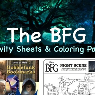 The BFG Coloring Pages and Activity Sheets #TheBFG