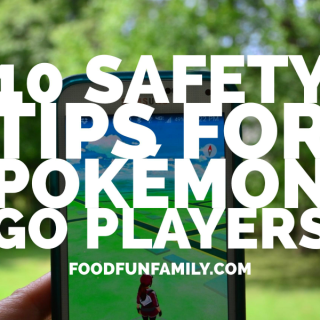 10 Safety Tips for Pokémon GO Players