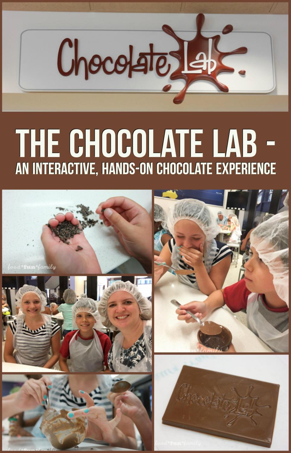 The Chocolate Lab - an interactive, hands-on chocolate experience at the Hershey Story - the Museum on Chocolate Avenue