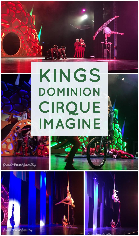 Kings Dominion KidsFest - Cirque Imagine