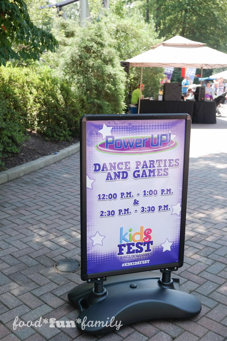 Kings Dominion KidsFest