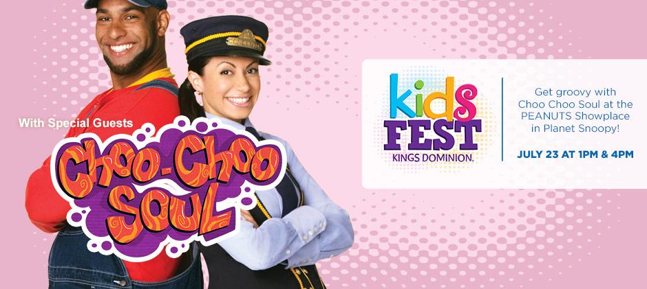 Kings Dominion KidsFest - Choo Choo Soul