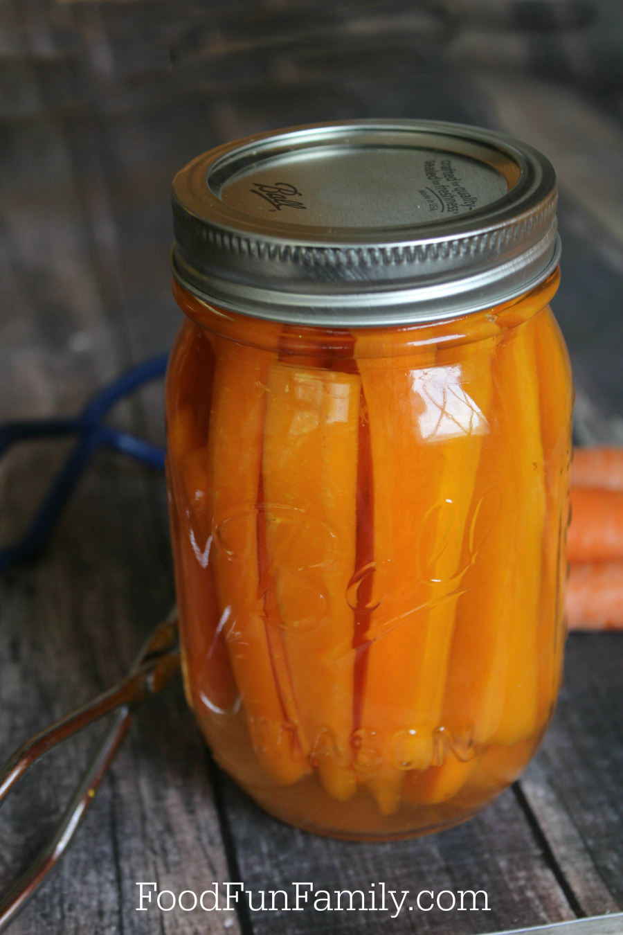 How to make your own pressure cooker canned carrots