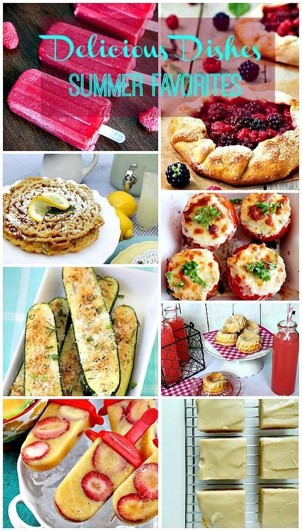 Delicious Dishes recipe linky #31 - featuring a colorful variety of delicious summer recipes that were hand-picked by your party hosts!