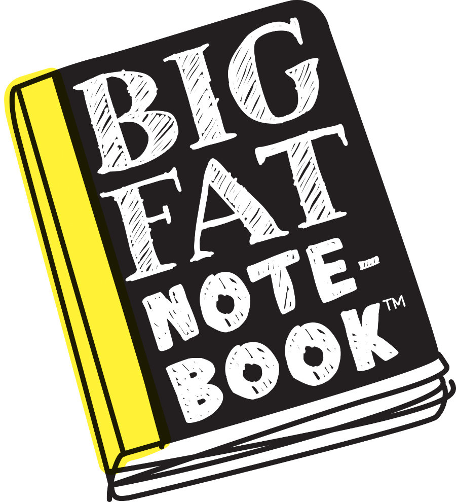 Big Fat Notebooks logo