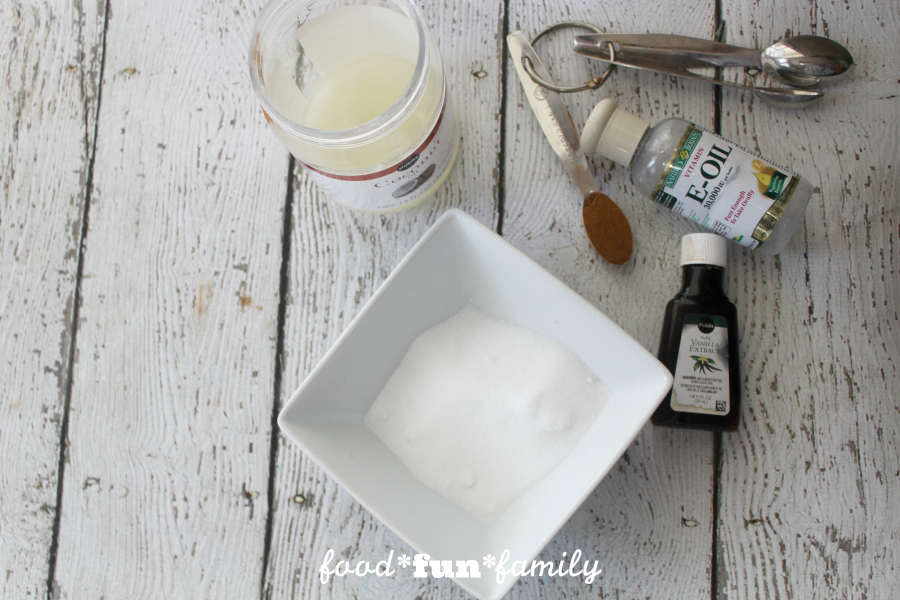 Homemade DIY lip-plumping cinnamon lip scrub