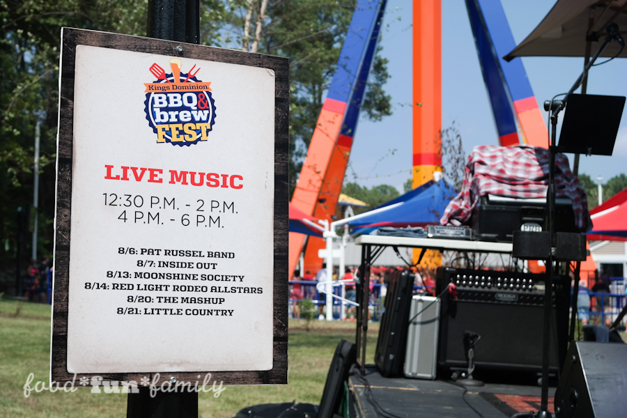 Kings Dominion BBQ & Brew Fest 2016