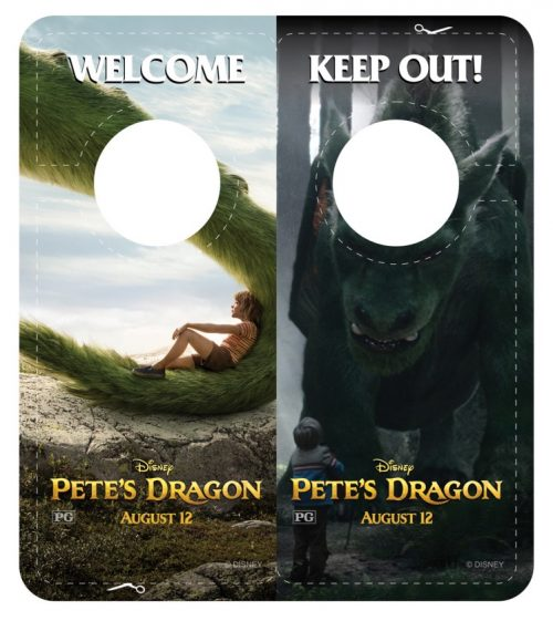 Pete's Dragon door hanger