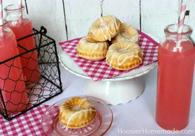 Pink Lemonade Pound Cake from Hoosier Homemade