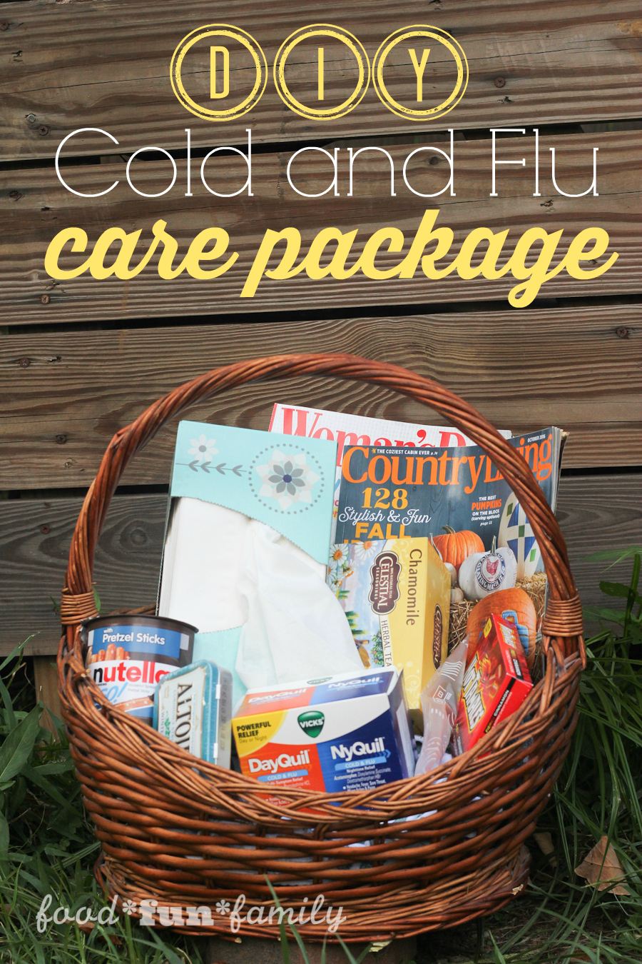DIY Cold and Flu Care Package