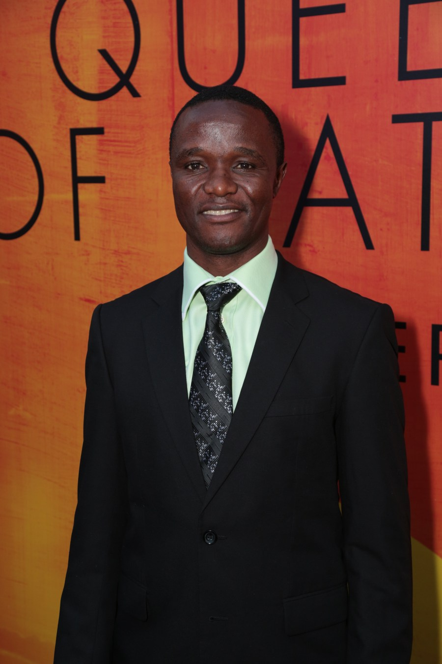 Robert Katende at the U.S. premiere of Disney's Queen of Katwe at the El Capitan Theatre in Hollywood, CA on Tuesday, September 20, 2016.(Photo: Alex J. Berliner/ABImages)