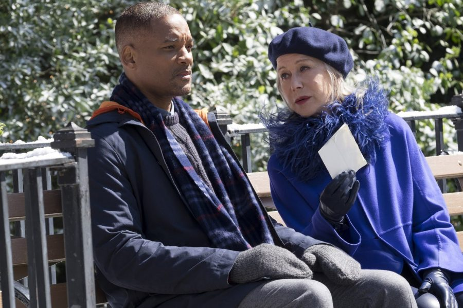 Will Smith and Helen Mirren in Collateral Beauty -- © 2016 - Warner Bros.