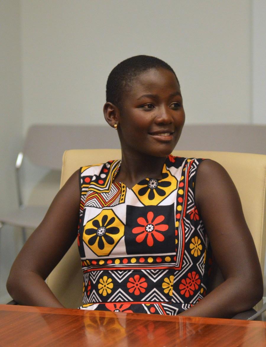 The Queen of Katwe Family: Lupita Nyong'o, Madina Nalwanga and Martin Kabanza #QueenOfKatweEvent