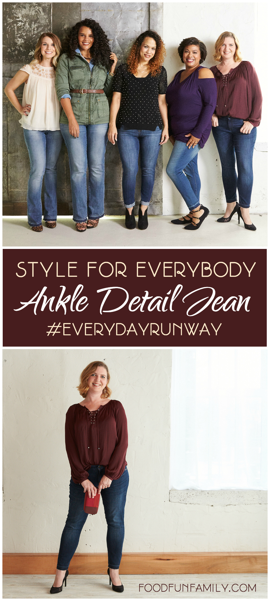 The Ankle Detail Jean: Style of Everybody #EverydayRunway