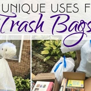 20 Unique Uses for Trash Bags #HeftyHelper #HeftyHeftyHefty