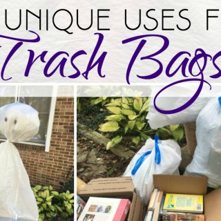 20 Unique Uses for Trash Bags #HeftyHelper #HeftyHeftyHefty