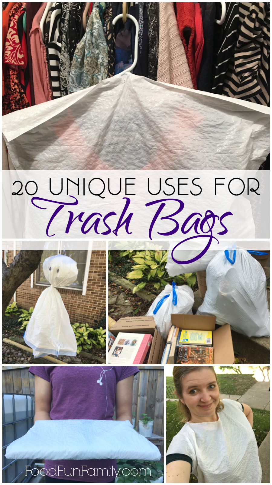20 Unique Uses for Trash Bags