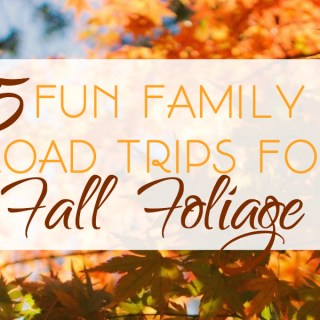 5 Fun Family Road Trips for Fall Foliage
